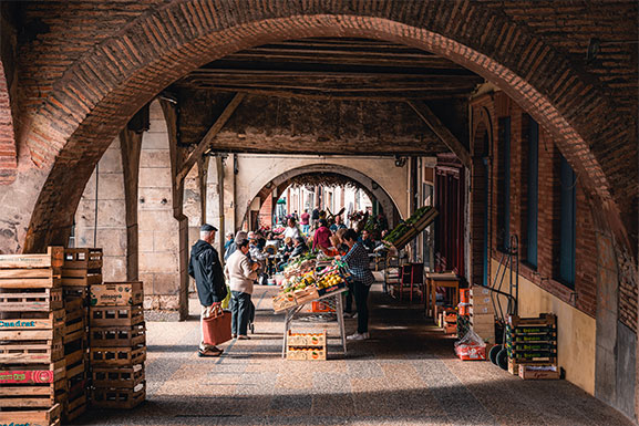 Arcades de Beaumont de Lomagne