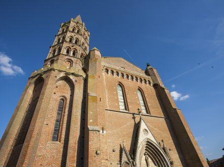 L'église de Beaumont de Lomagne