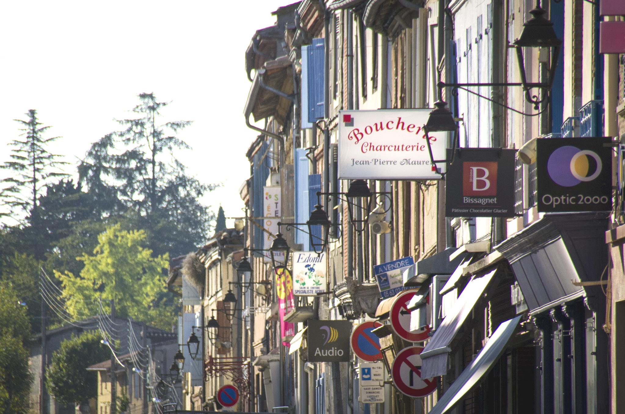 Commerces en Lomagne
