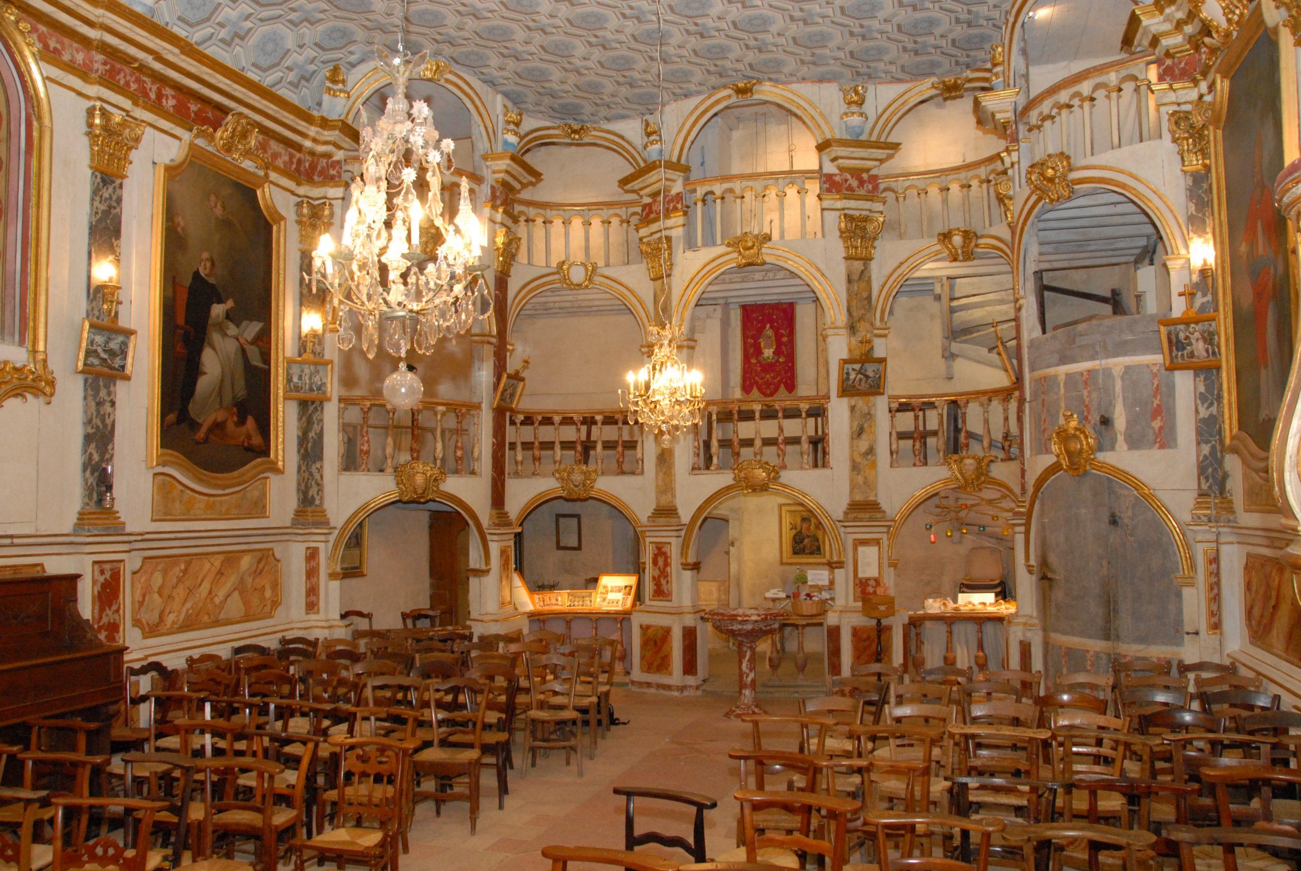 Tribunes baroques de l'église de Lachapelle