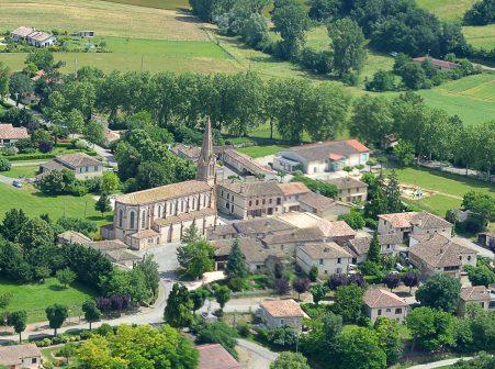Village de Faudoas en Lomagne Tarn et Garonnaise