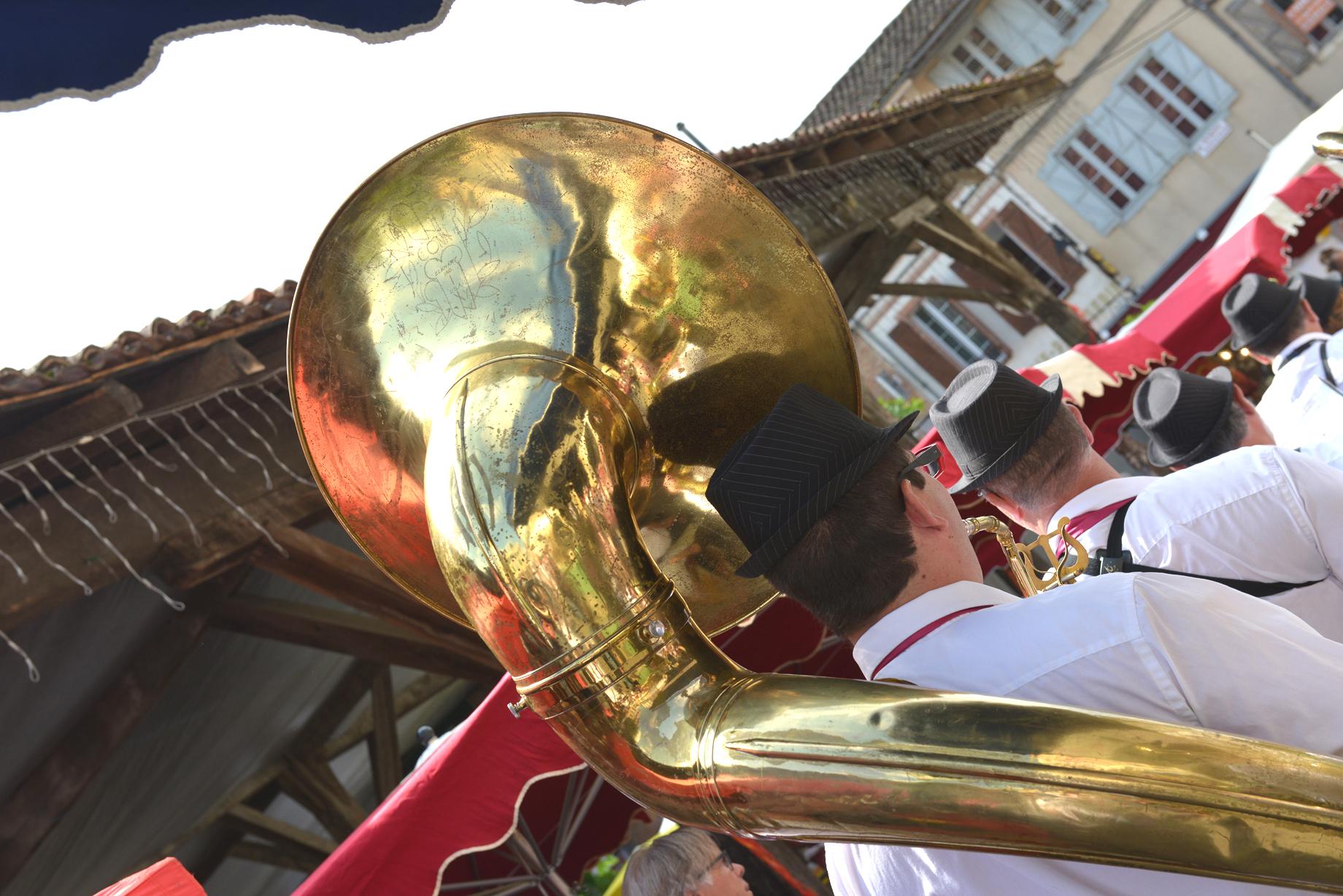Festivités en Lomagne, musique, banda