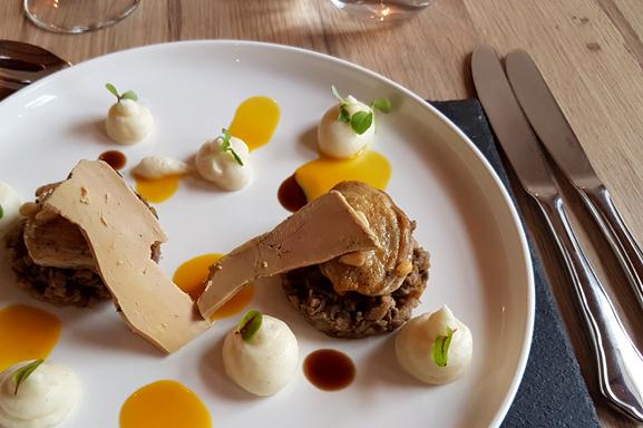 Assiette foie gras à la Belle Montoise