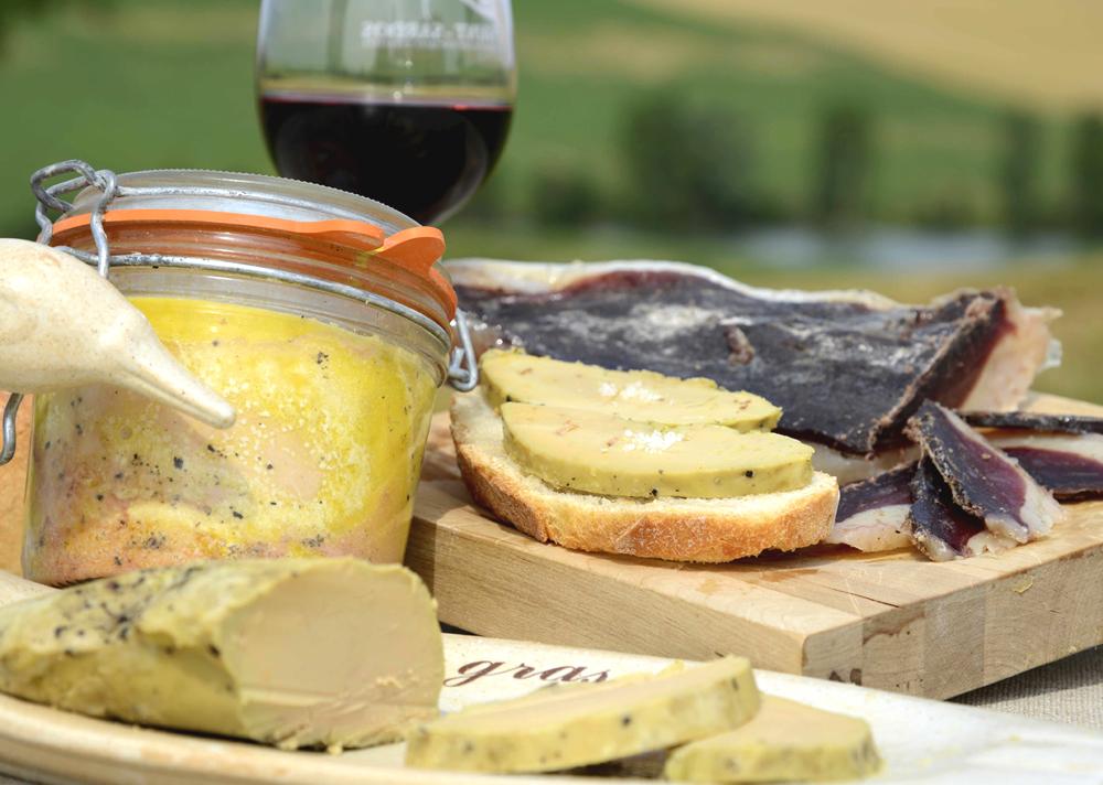 Foie gras, confits de Lomagne