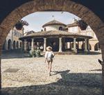 Auvillar et sa halle circulaire