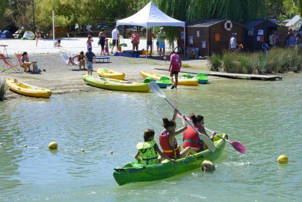 Activités nautiques lac de Beaumont de Lomagne