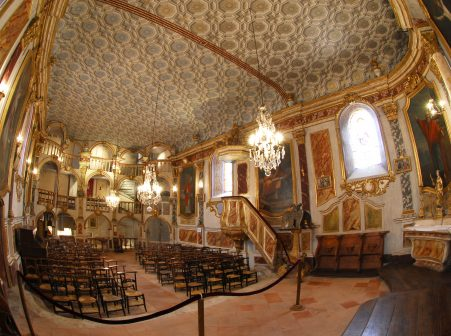 Eglise baroque de lachapelle