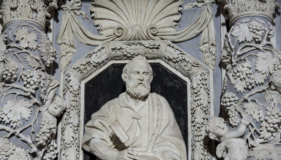 Détail du retable baroque de Larrazet