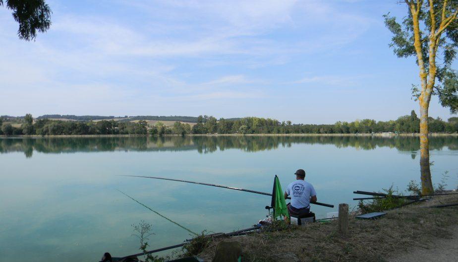 peche lac de Beaumont de Lomagne