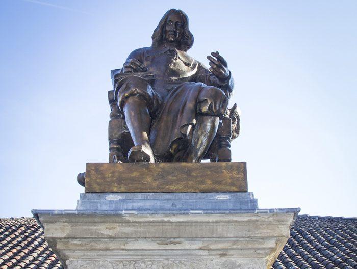 Statue de Pierre Fermat à Beaumont de Lomagne