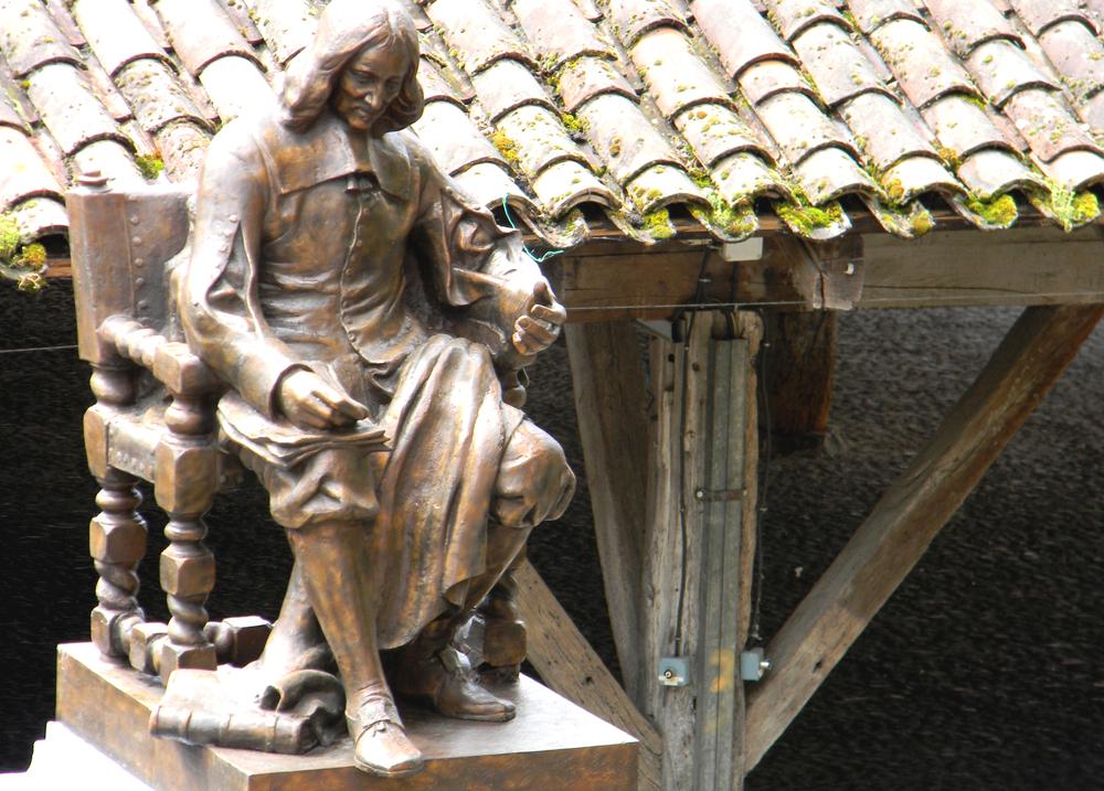 Statue Pierre de Fermat à Beaumont de Lomagne