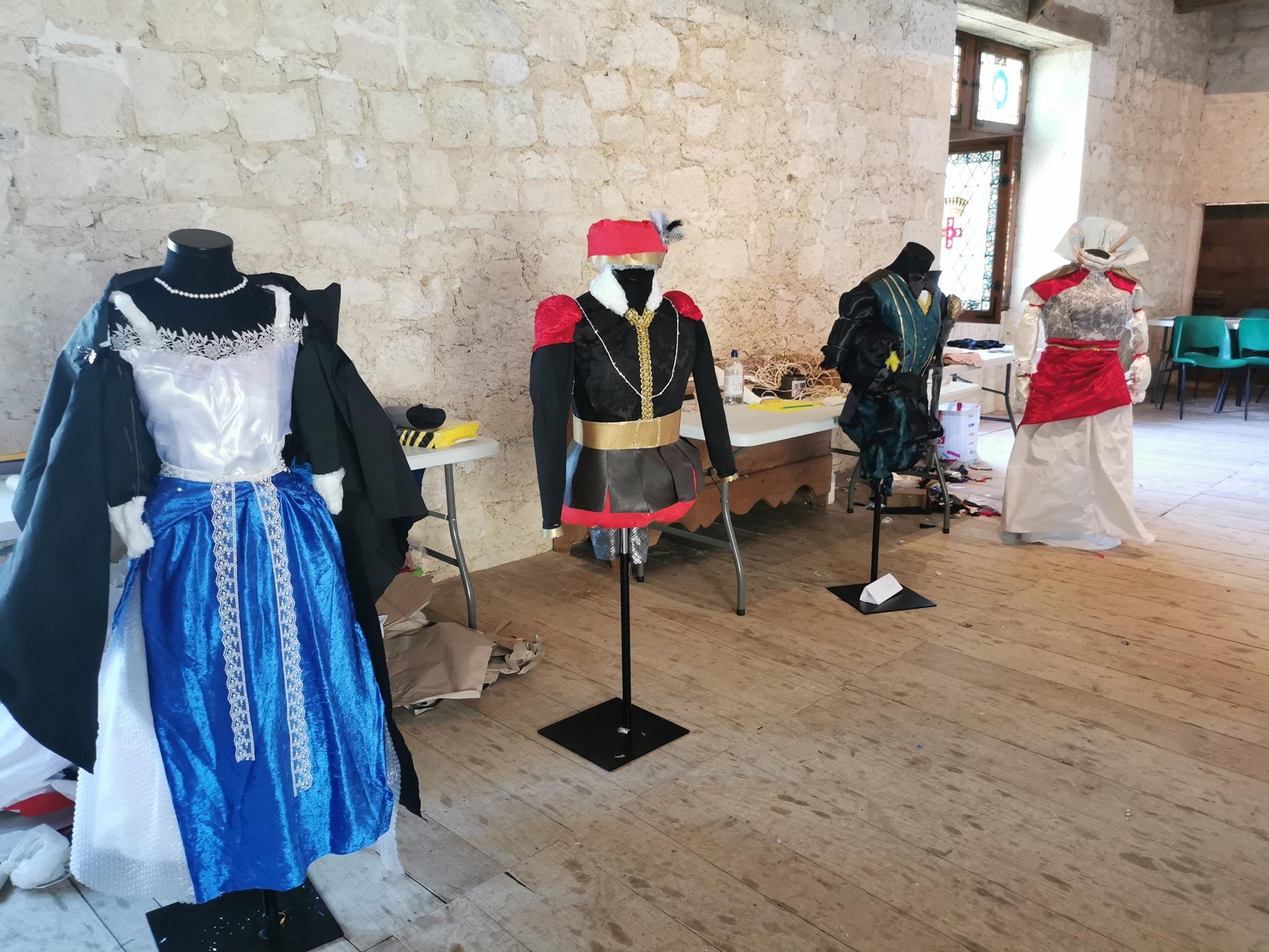 Atelier jeune public château de Gramont