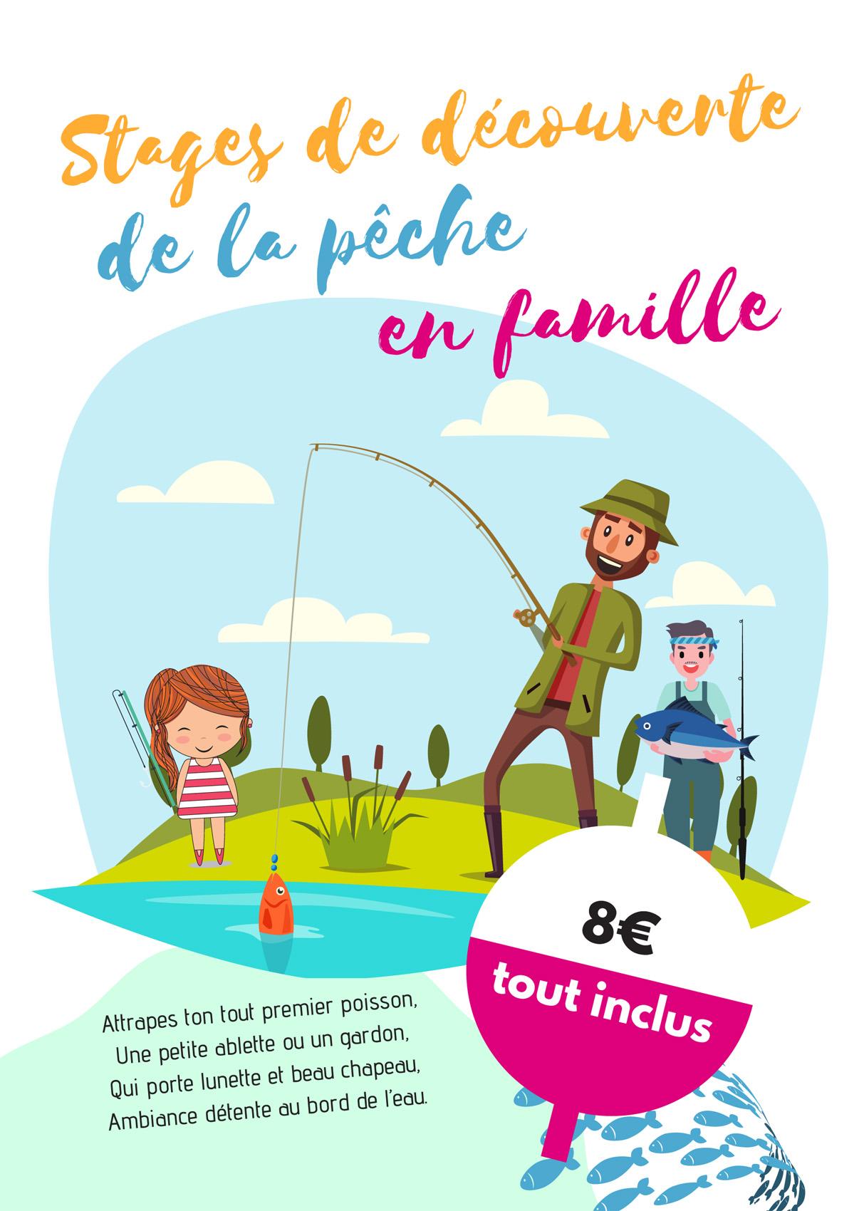 Atelier pêche en famille en Lomagne Tarn et Garonnaise