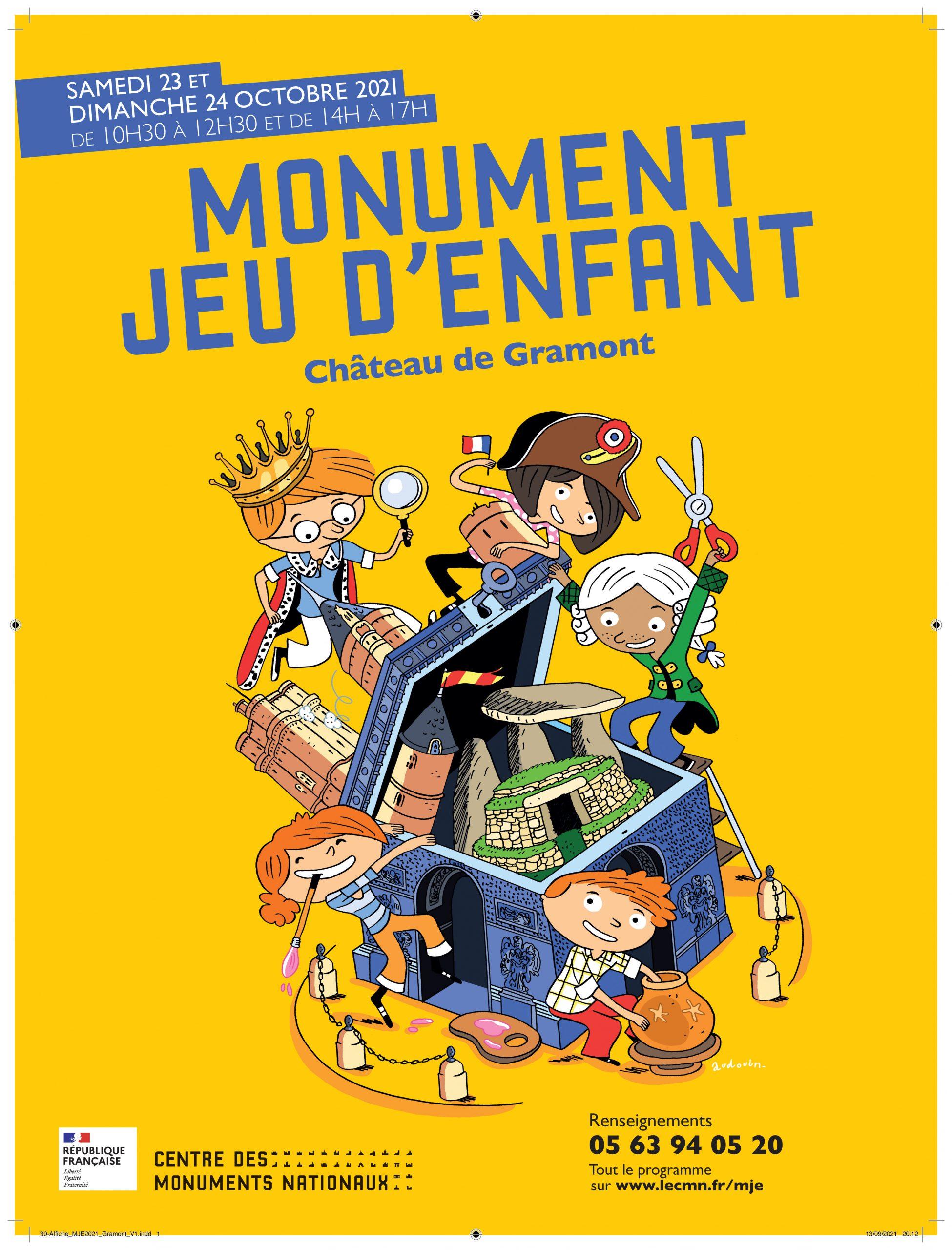 Monument jeu d'enant en Lomagne Tarn et Garonnaise